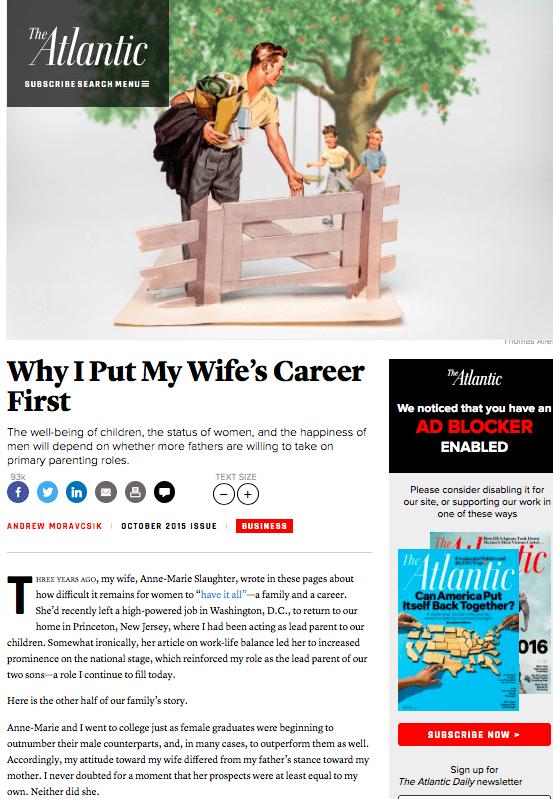Źródło: http://www.theatlantic.com/magazine/archive/2015/10/why-i-put-my-wifes-career-first/403240/