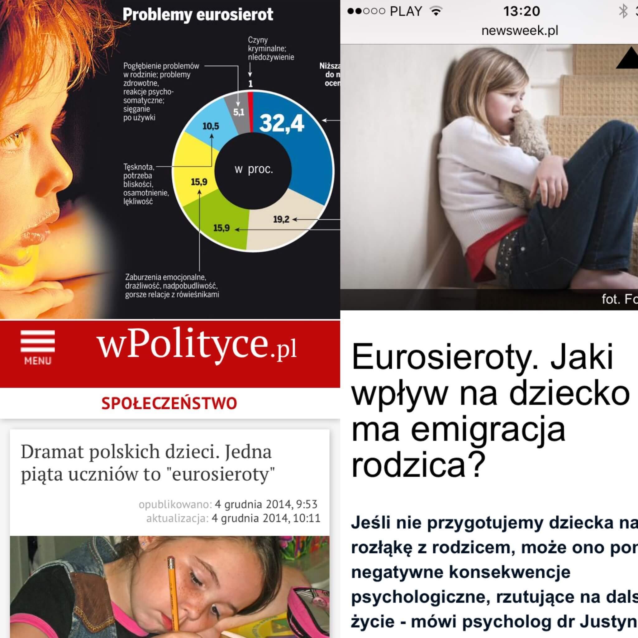 Screeny z newsweek.pl, dziennik.pl i wsieci.pl