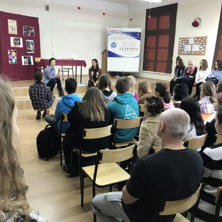 Spotkanie z uczennicami i uczniami II LO w Tarnowie